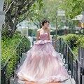 2017 Nuevo Lujo Elegante Princesa Vestidos de Quinceañera Rebordear Sweetheart vestido de Bola Del Partido Vestido de Fiesta Vestidos De 15 Anos QA1121