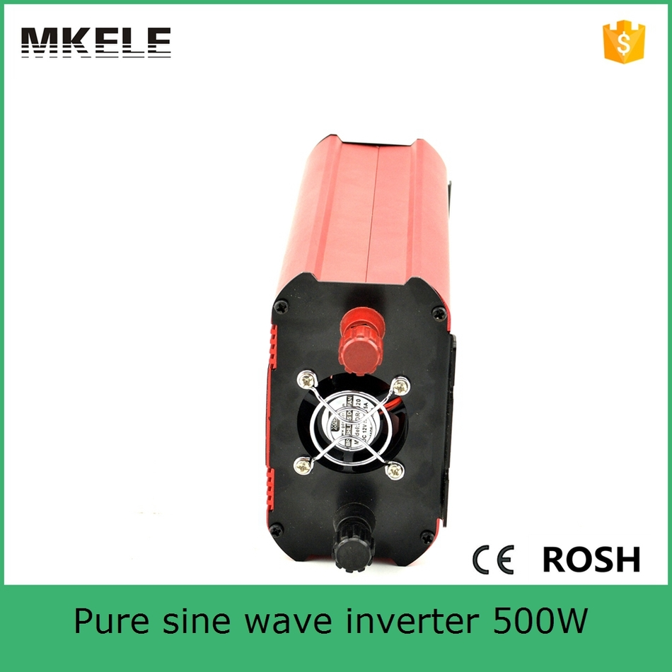 купить MKP600-122R dc ac pure sine wave 220vac 600w power inverter voltage 12vdc 600 watt power inverter for home use made in China по цене 3824.86 рублей