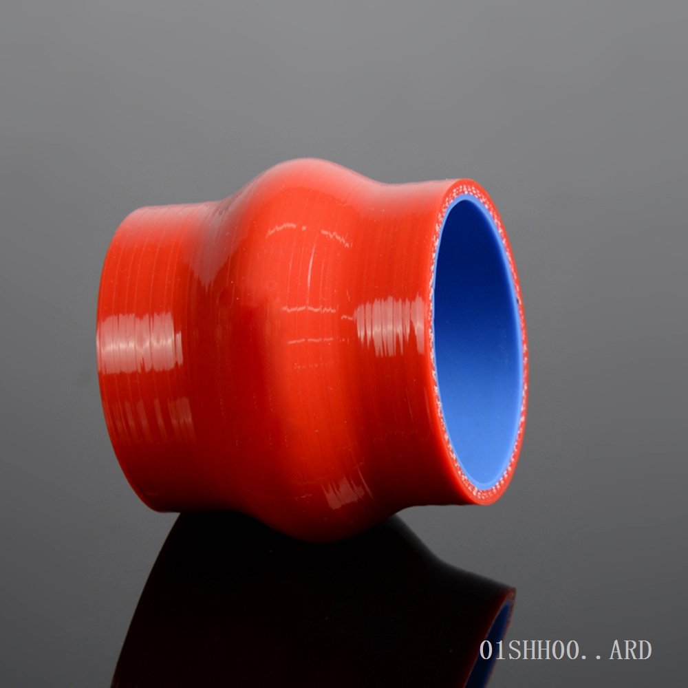 Free Shipping 76mm 3 Hump Straight Silicone Hose Intercooler Coupler Tube Pipe 3 PLY