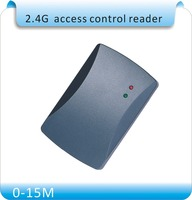Newest Access Control System special 2.4GHZ longer distance WG26 reader /2.4GHZ Access Control Card Reader+10pcs 2.4GHZ cards