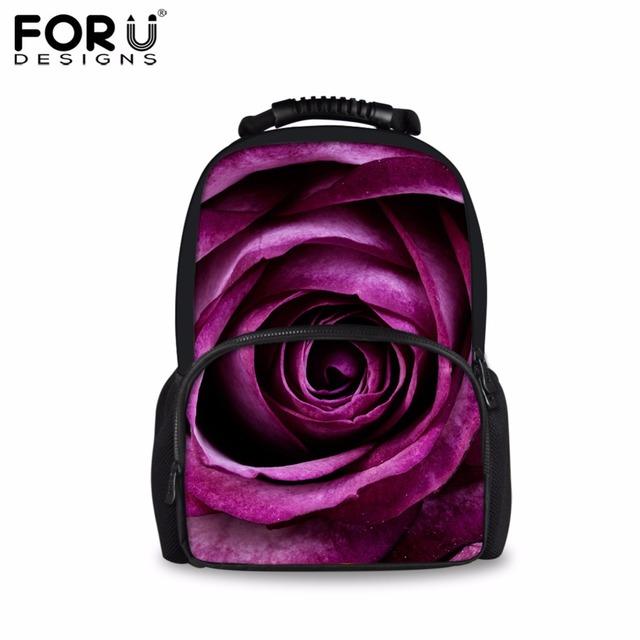 FORUDESIGNS Vintage 3D Flower Women Travel Backpack Casual Canvas School  Bags For Girls Female Daily Daypack Mochilas Rucksack a0ee4adf2090e