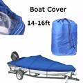 Heavy Duty Trasportabile Copertura Della Barca 14--16FT Protezione UV Impermeabile di Alta Qualità Marine Grade Barche Classic Cover Accessori