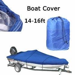 Pokrowiec na przyczepę o dużej ładowności osłona łodzi 14  16FT wysokiej jakości wodoodporna ochrona przed promieniowaniem UV morskich klasy osłona łodzi klasyczne akcesoria w Łodzie wioślarskie od Sport i rozrywka na