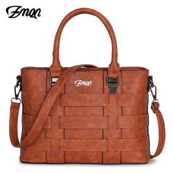 ZMQN Women Bags Handbags Women Famous Brands PU Leather Handbag Ladies Hand Bags For Women 2018 Vintage Shoulder Sac Femme C821