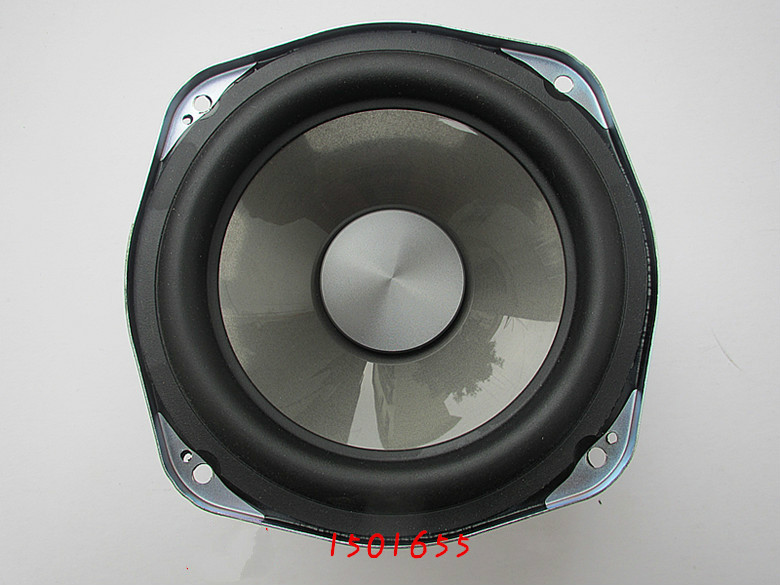GHXAMP 5 5 Inch Subwoofer Speaker 4ohm 50W 150mm Woofer Loudspeaker For 2 Way Speaker 2