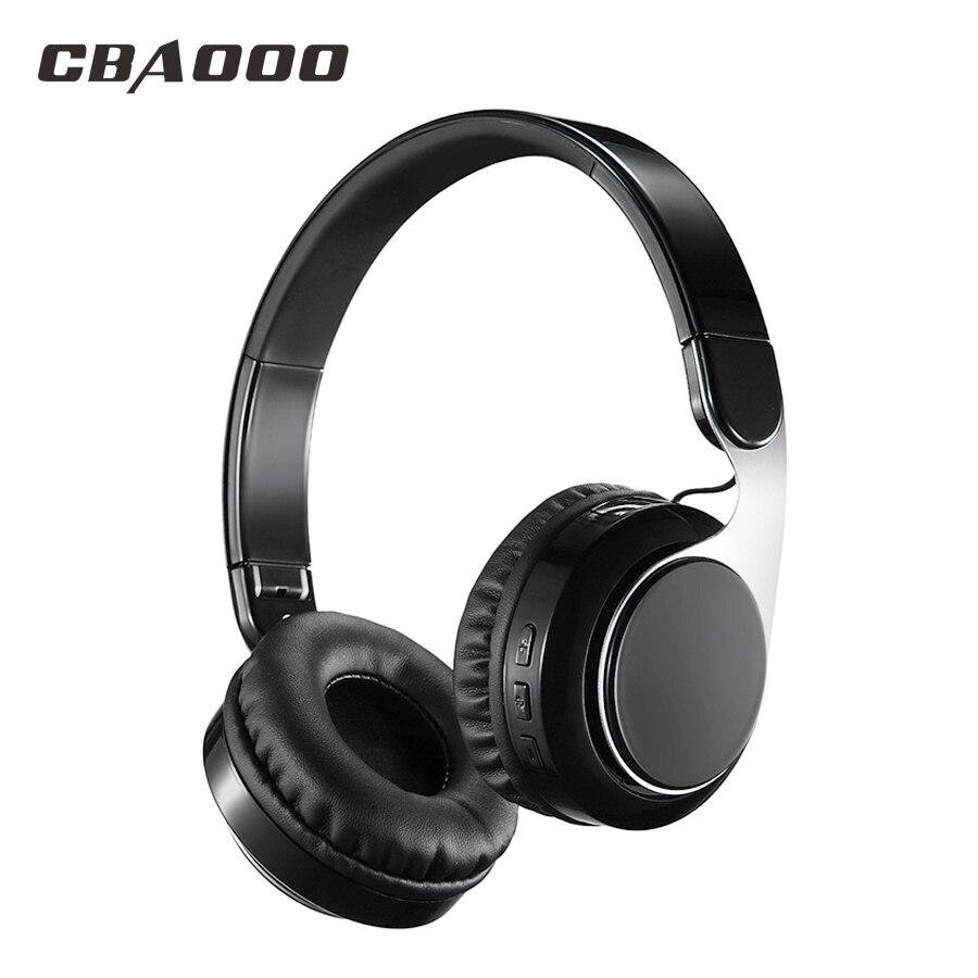 Sans fil Bluetooth Casque Sans Fil Casque Bluetooth 4.1 Salut-fi Subwoofer Stéréo Pliable Musique Casque avec Microphone
