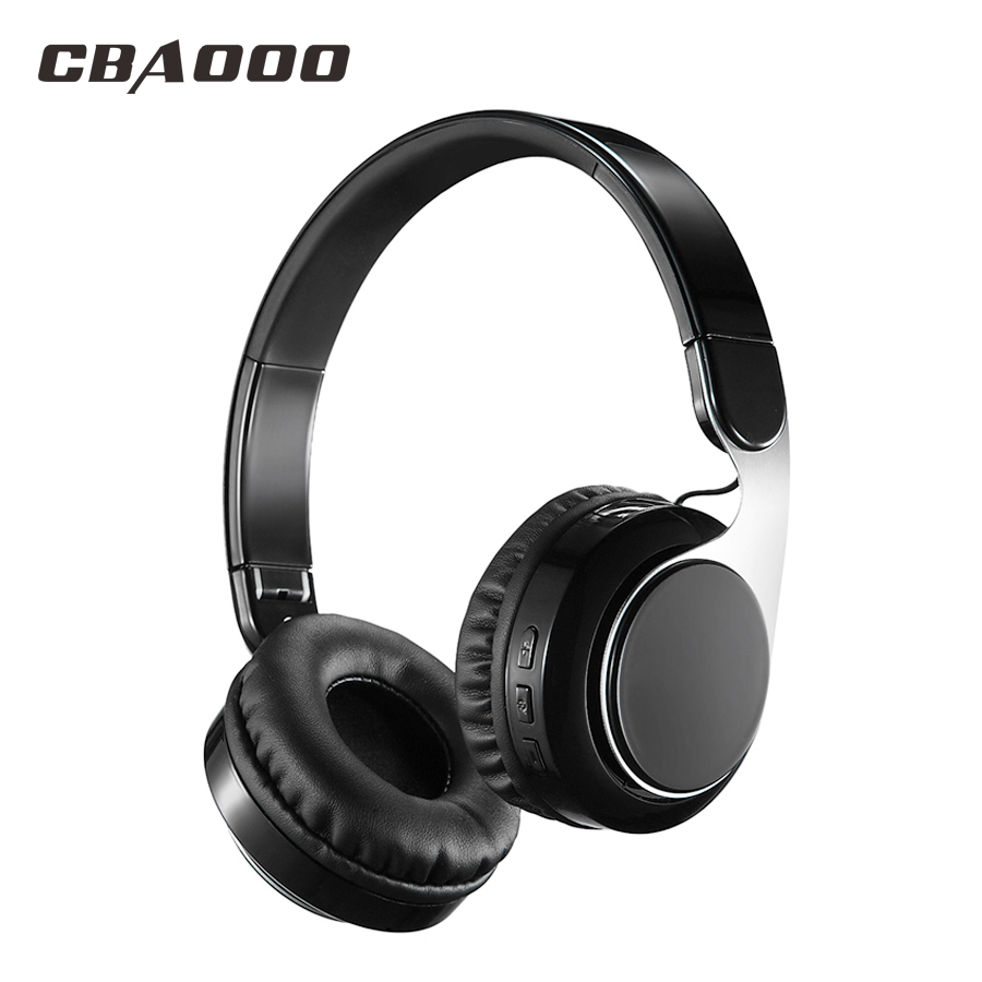 Wireless Bluetooth Headphone Wireless Headset Bluetooth 4.1 Hi-Fi Subwoofer Stereo Collapsible Music Headset with Microphone