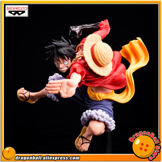 Japan Anime ONE PIECE Original Banpresto SCultures BIG Zoukeiou 6 Vol.3 Collection Figure - Monkey D. Luffy japan anime one piece original banpresto world figure colosseum bwfc zoukeiou vol 1 collection figure zoro