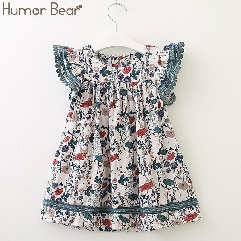 527d70638 Vestido de la muchacha del oso del Humor 2019 de la marca del verano nuevo  vestido de la princesa ...