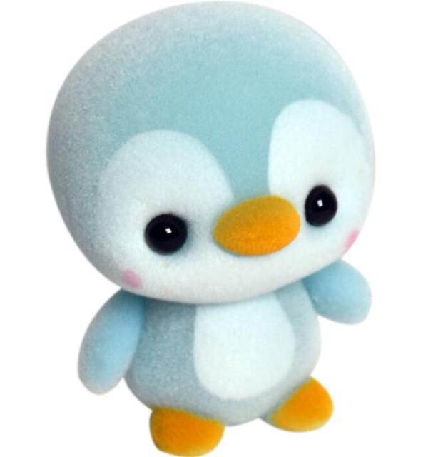 3pcs Lot Kawaii Soft Stuffed Plush Animals Blue Penguin Figure