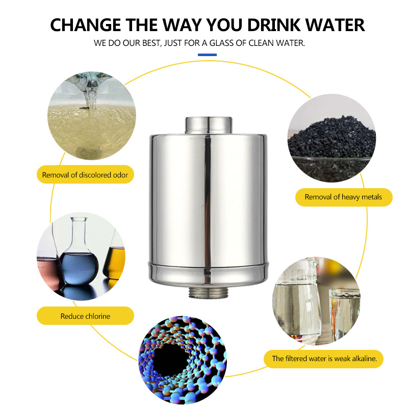 Tap Water Purifier Kitchen Faucet Washable Ceramic Percolator Mini Water Filter Filtro Rust Bacteria Removal Replacement Filter in Kitchen Faucet Accessories from Home Improvement