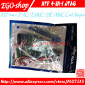 100%original new ATF 4-in-1 JTAG / EMMC / ISP / MMC Card Adaptor