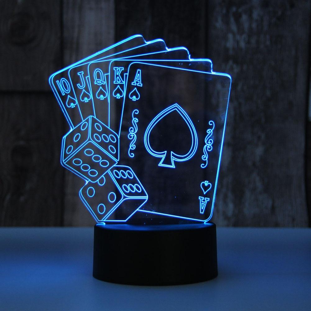 poker lampe
