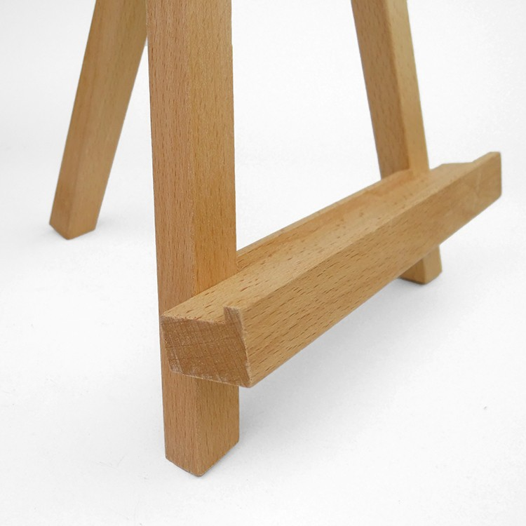 Mini Beech Wooden Easel For Painting Sketching Small Tabletop Tripod  Display Show Photo Frame Easel Stand 19*12.6*28cm Desktop In Easels From  Office ...
