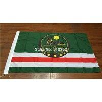 Чеченская Республика государственный флаг России 3x5 футов 150X90 см баннер 100D полиэстер пользовательский флаг втулки 6038, бесплатная доставка