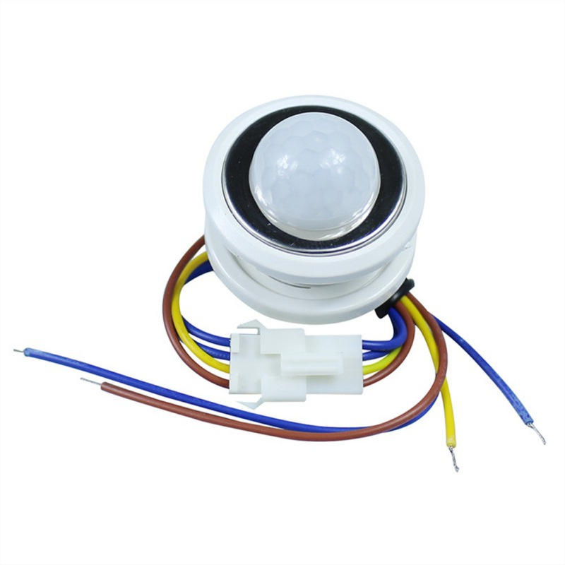2018 40mm Led Pir Detector Infrared Motion Sensor Switch With Time Delay Adjustable Light Dark Products Are Sold Without Limitations Security & Protection