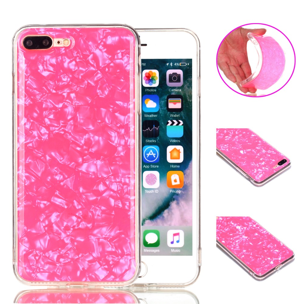 For iPhone X Bling Soft TPU Case For iPhone 5 5S 6 6S 7 8 Plus Silicone Skin Cover Back Capa
