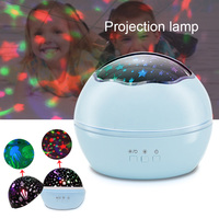 8 Modes LED Projector Lamp Rotation Starry Star Moon Sky Projector Night Light for Children Room TB Sale
