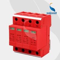 50KA Voltage Protector, Surge Protector,Surge Protective Device 4P,SP C20/3P+NPE CE UL Approval