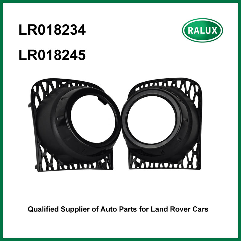 LR018234 LR018245 right and left auto fog lamp cover for Range Rover 2010-2012 black car fog light hood replacement parts supply