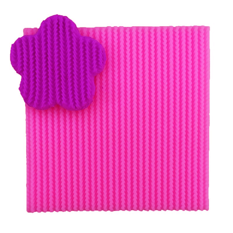 3D Reverse sugar molding Sweater texture shape silicone mould for polymer clay molds accessories cake decoration tool 0767