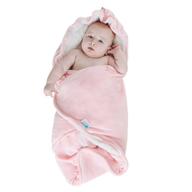 Newborn Baby Sleeping Bags Winter Cotton Baby Blankets Wraps Infant Child Outdoor Warm Sleep Sacks Carry Pack