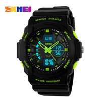 New Men Military Watch Sports Watches Dual Time Digital Quartz Chronograph Jelly Silicone Dive Wristwatches 4colors