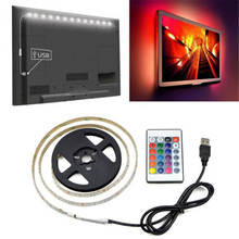 USB LED Strip Light 2835SMD 5V 1M 2M 3M 4M 5M TV Backlight Ambilight Rgb Tiras LED Home Decor Usb Diode Tape For TV