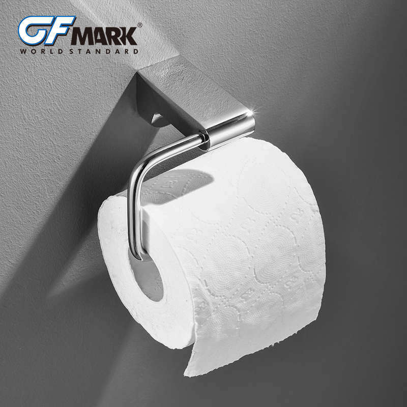GFmark Toilet Paper Holder Chrome Plated Roll Paper Holder Wall Mount Bathroom Fixture Accessories WC Rol Klep WC Rolhouder цена