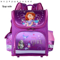 2017 New Orthopedic Breathable Grils Sofia Princess Schoolbag Children Cartoon School Bags For Boys Backpacks Mochila Infantil