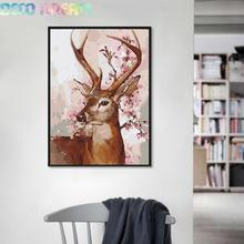 Full Diamond Painting The New Happy Deer Diy Embroidery Style Series 2 Sizes