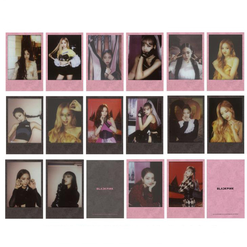 8 Pcs pack Fashion Kpop BLACKPINK KILL THIS LOVE Album Photocard Lomo Cards JENNIE LISA ROSE