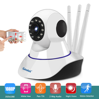 Howell 720P HD WiFi Video Surveillance Monitoring Security Wireless IP Camera With Two Way Audio IR
