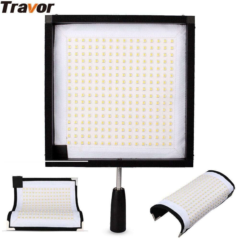 Travor FL 3030 30x30cm Led Panel Foldable LED Video Light photography lighting for Canon Nikon Camera Camcorder fotografia Light