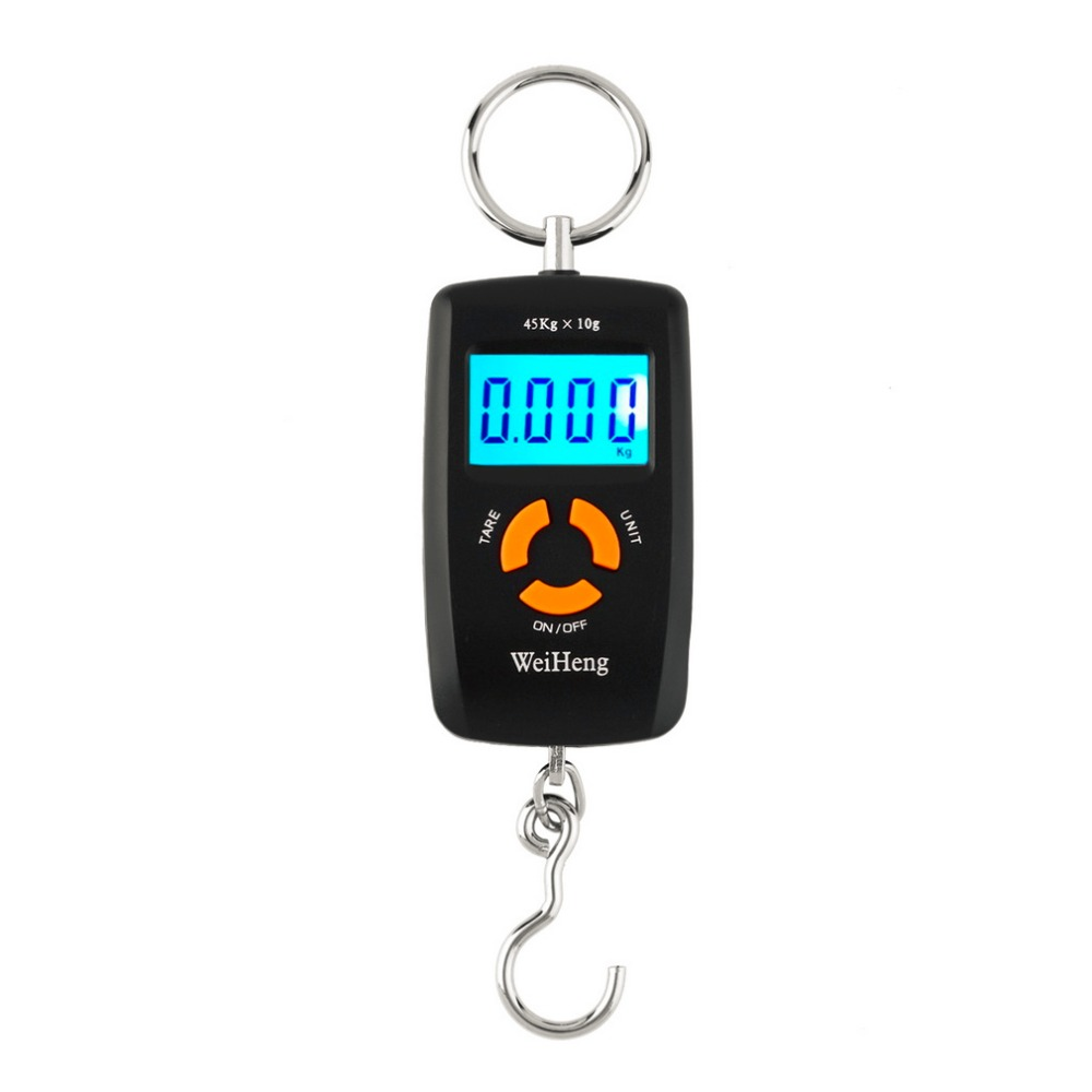 Electronic-Scale Digital Hot Mini LCD for Fishing-Wh-A05l Hooking Lcd-Display 10-To-45kg