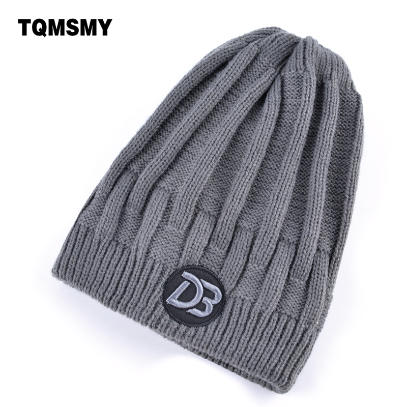 Double layer beanies men winter hats for Women skullies solid color knitted wool Hip-hop cap Plus velvet gorros bone mask caps winter hats for women thick beanies gorros de lana mujer knitted wool skullies warm snapback hip hop cap bonnets en laine homme
