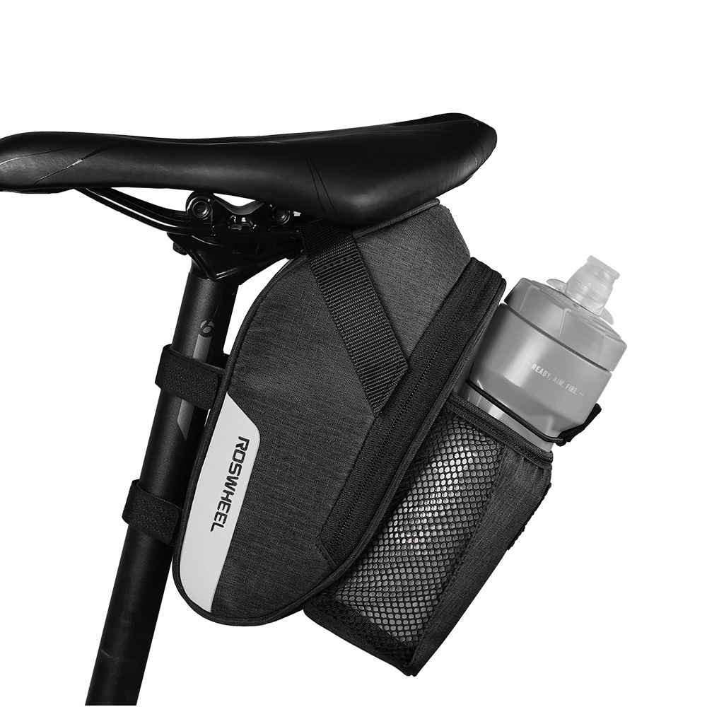 ROSWHEEL ESSENTIAL Bicycle tail bags Bike kettle saddle bag New product Cycling Equipment LOHAS SERIES