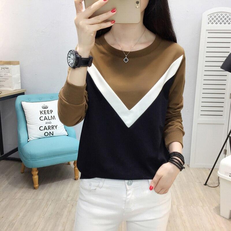 t shirt women tshirt autumn winter camisa feminina t-shirts women tops casual poleras de mujer moda 2019 tee shirt femme