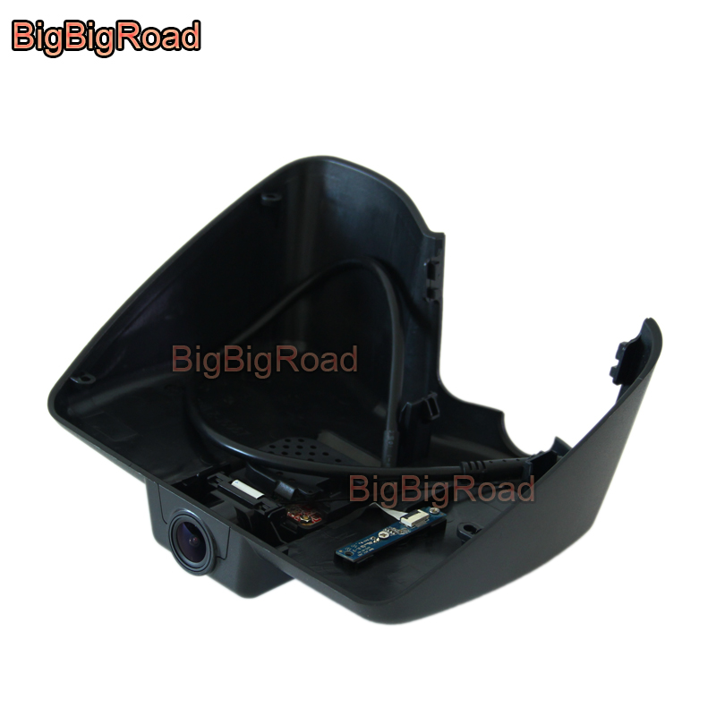 BigBigRoad Car DVR Wifi Video Recorder Dash Cam Camera For jeep cherokee 2014 2015 2016 2017 High configuration image