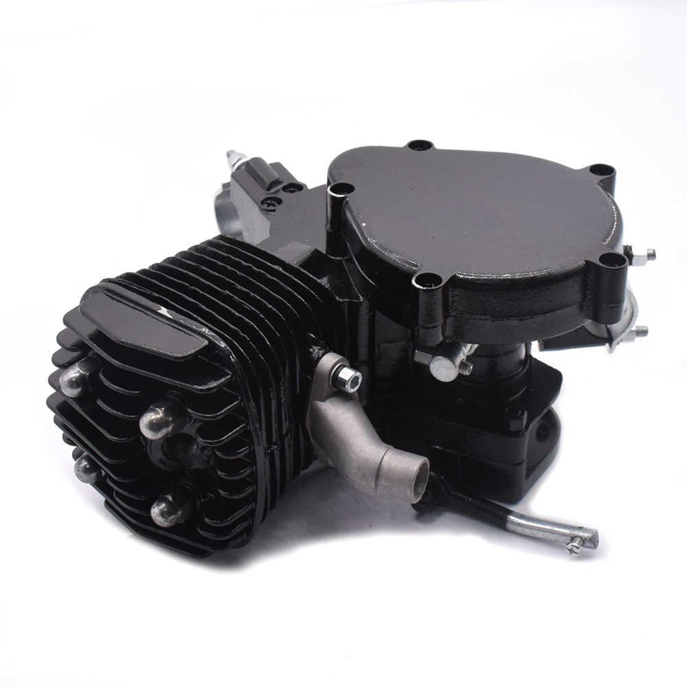 """80cc 2 ストローク自転車モーターキットエンジン修正されたキット 5000r/分自転車エンジン変換キットのための 24"""" 26 """"28"""" 輪バイク"""