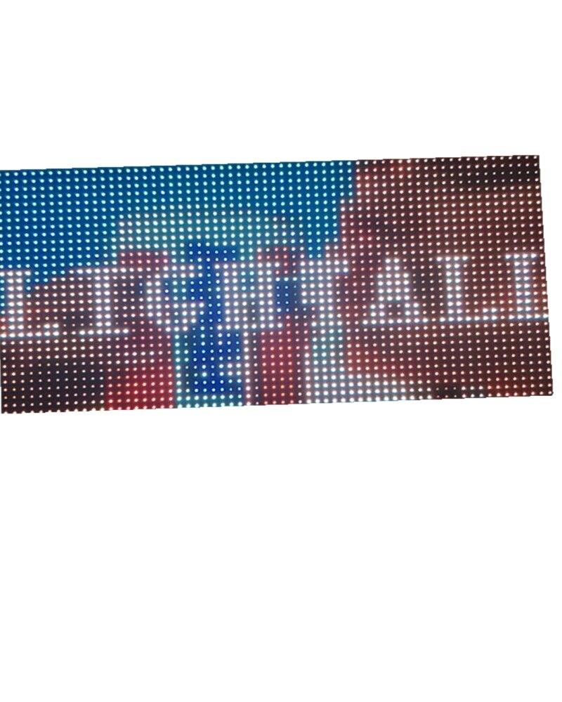 8mm Pixel Full Color Module Hub 75 32*16 Pixel 1/4 Scan 256*128mm Smd 3 In 1 Rgb Display P8 Led Module LED Matrix