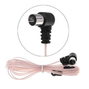 Image 1 - 2019 FM Antenna Female/Male Type Plug Connector Stereo Audio Radio Receiver for Yamaha JVC Sony Sherwood Pioneer Denon Panasonic