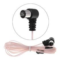 2019 FM antena kobiet/mężczyzna rodzaj wtyczki złącze Stereo Audio odbiornik radiowy dla Yamaha JVC Sony Sherwood Pioneer obsługi Denon panasonic