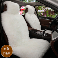 Sheepskin car seat covers universal size for seat cover accessories automobiles