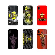 Accessories Phone Cases Covers For Samsung Galaxy S4 S5 MINI S6 S7 edge S8 S9 S10 Plus Note 3 4 5 8 9 Racing Rockstar Motocross(China)