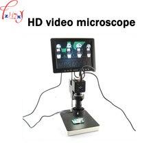 1 шт. 100-240 В электронных HD видео микроскоп электронный видеомикроскоп применить на мобильный телефон схема обслуживания