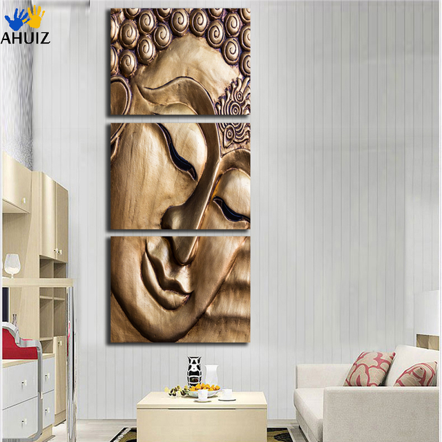 Selling Modern Buddha Canvas Painting Picture And Poster Hd Print 3