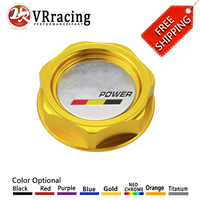 VR RACING FREE SHIPPING MUGEN POWER EMBLEM TWIST ON ENGINE OIL FILLER CAP BADGE FOR HONDA