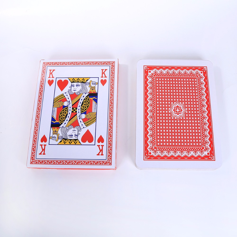 Jumbo Playing Cards A4 Size Poker Super Big Paper Poker Cards Advertising Playing Card Promotion Game Card Gift Huge Card in Playing Cards from Sports Entertainment
