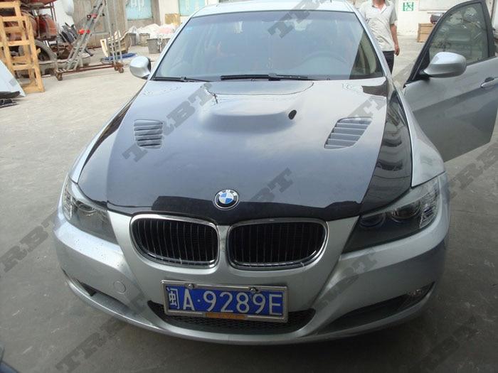 09-12 BMW E90 Vrs Style Carbon Fiber Hood2